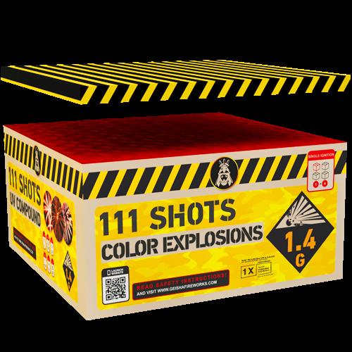 Geisha Color Explosions 111-Schuss
