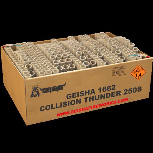 Geisha Collision Thunder 250-Schuss