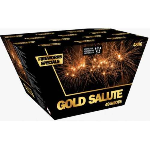 Vuurwerk Orthen Golden Salute