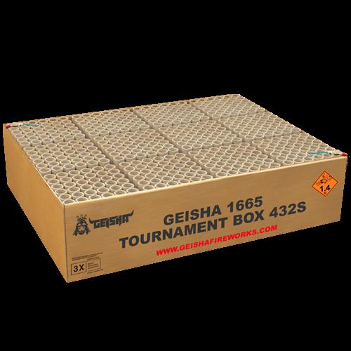Geisha Tournament Box 432-Schuss