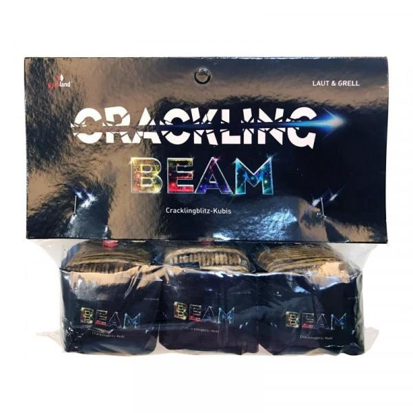 Pyroland Crackling Beam - Kubische Kanonenschläge 3er Beutel