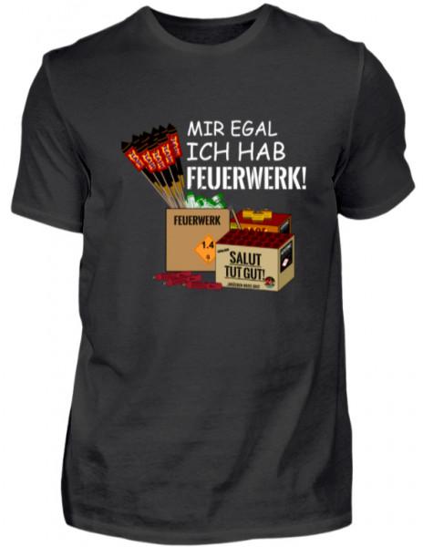 """T-Shirt """"Mir egal"""""""