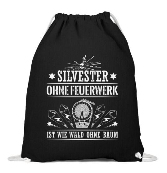 """Beutel """"Silvester ohne Feuerwerk"""""""