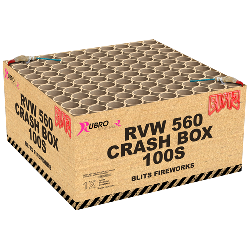 Rubro Crash Box 100-Schuss