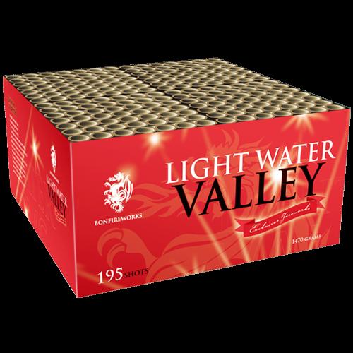 Bonfireworks Light Water Valley 100-Schuss