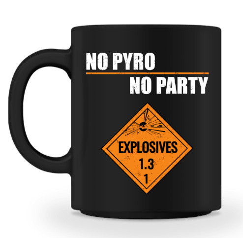 "Becher ""No Pyro"""