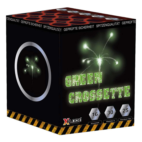 Xplode Green Crossette