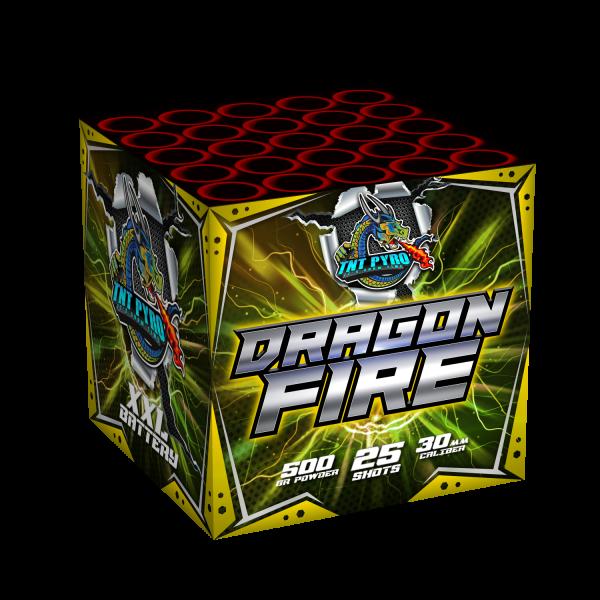 TNT Pyro Dragon Fire 25-Schuss