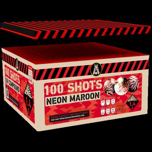Geisha Neon Maroon 100-Schuss
